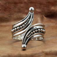 Cleopatra Hinged Sterling Silver Bracelet