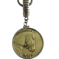 2017 Horse Coin Pendant | Caracol Jewelry