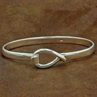 Sterling Silver Lasso Bracelet | Men