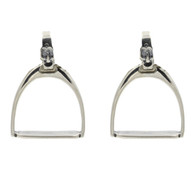 Stirrup and Iron Earrings
