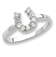 2749 Horse Shoe Ring in Sterling Silver