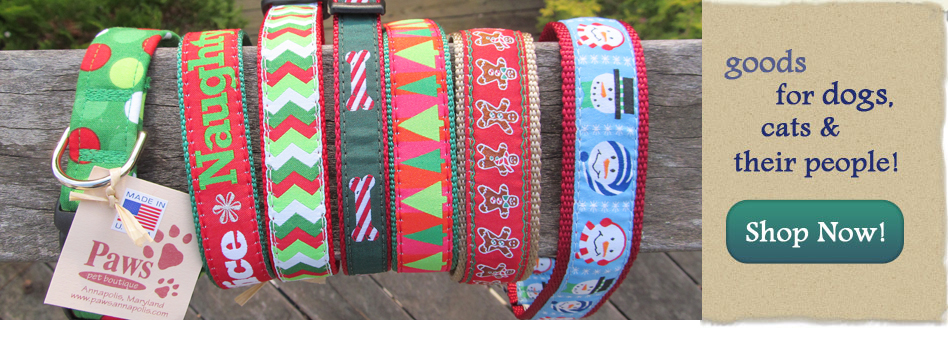 Unique Holiday Dog Collars