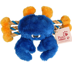 Blue Crab With Squeaker Claws at PawsPetBoutique.com