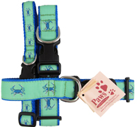 Unique Crab and Nautical Dog Collars at PawsPetboutique.com
