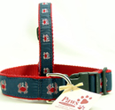 Red Crab Dog Collars at PawsPetBoutique.com
