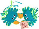 Eco-friendly Blue Crab Cat Toys at PawsPetBoutique.com