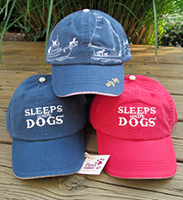 Good Dog Baseball Hats at Paws pet boutique