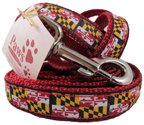Maryland Flag Leashes and Collars