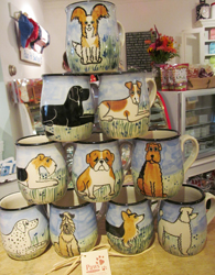 Dog Mugs and Entertaining Animal Goods