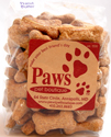 Natural Peanut Butter Bone Dog Treats, USA Baked