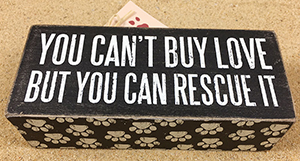 You Can't Buy Love, But You Can Rescue It