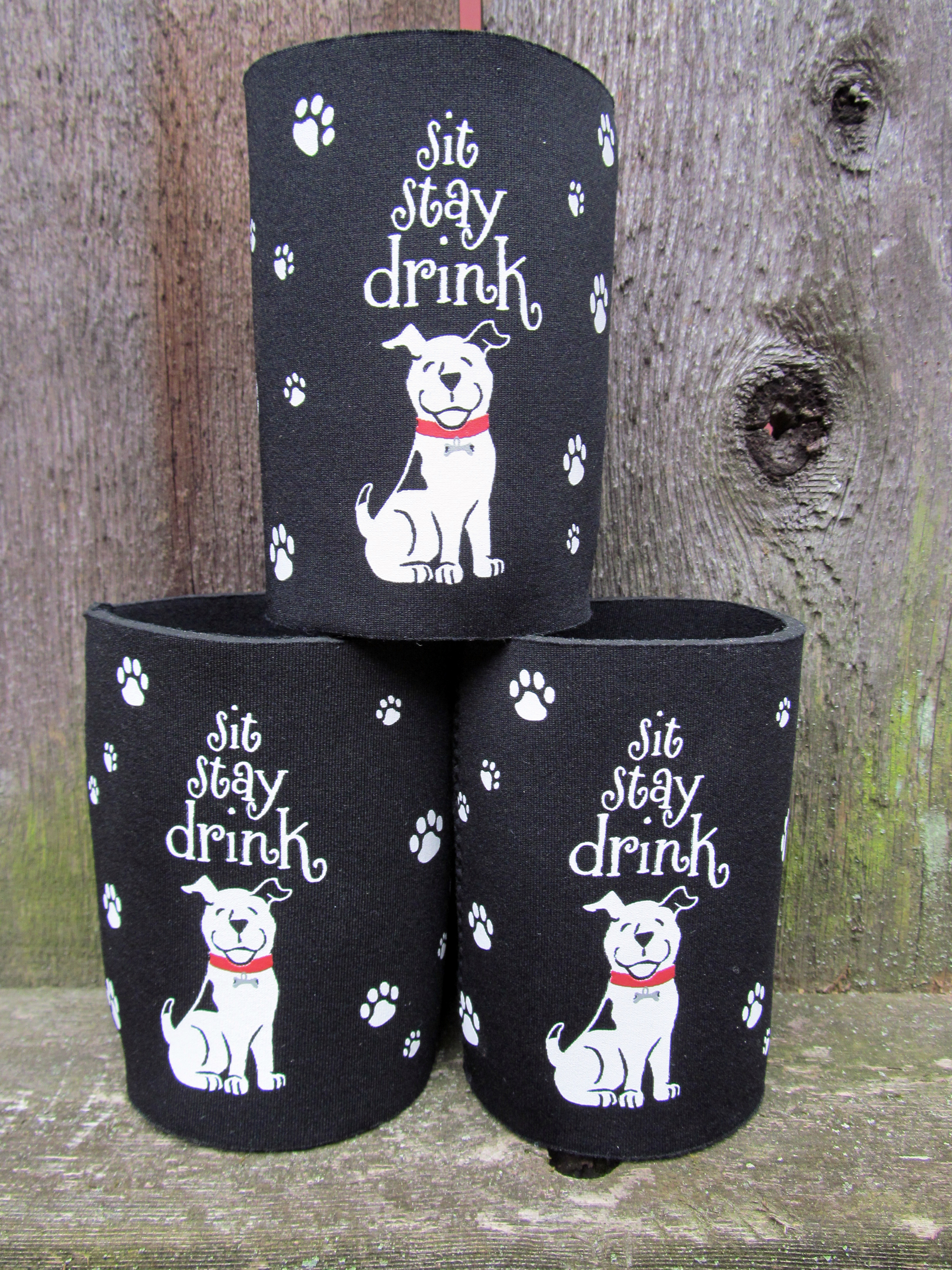 Delightful Gifts From The Dog Part - 4: Sit-stay-koozie.jpg