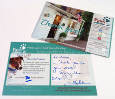 5 coupons thank paws pet boutique clients paws pet boutique. Black Bedroom Furniture Sets. Home Design Ideas
