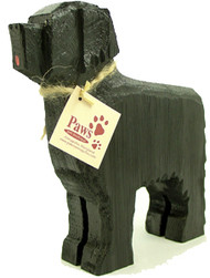 Carved Wood Newfoundlands
