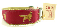 Golden Retrievers Ribbon Dog Collars