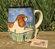 Hand-painted Cavalier King Charles Mug