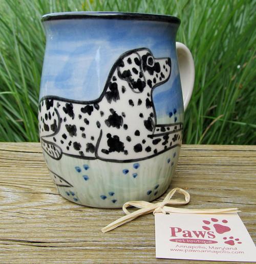 Dalmatian Mugs Hand-painted in USA