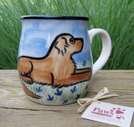 Golden Retriever Hand-painted Mug made in USA