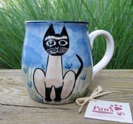 Hand-painted Siamese Cat Mug