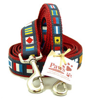 Nautical Flag Dog Leashes made in USA