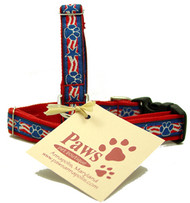 Patriotic Dog Collar for Small Dogs