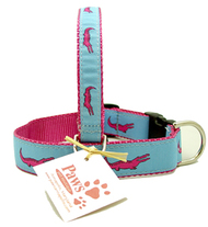 Pink Alligator Dog Collars