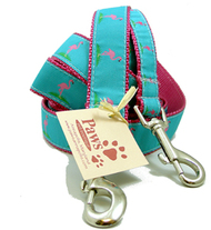 Pink Flamingos Dog Leashes