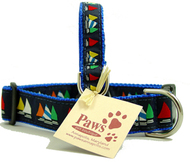 Rainbow Fleet Sailboat Dog Collars