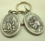 Saint Francis/ Saint Anthony Pet Charms