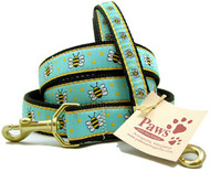 Yellow Bumble Bee Dog Leashes
