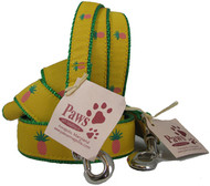 Pink Pineapple Dog Leashes