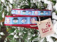 Winter Snowman Dog Collars