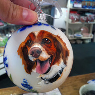Hand-painted Ornament Painted from a Photo