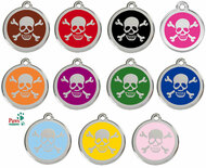 Colored Enamel Pet Tags