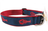 Red Lobster Dog Collars are proudly made in America.