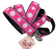 Daisy Pink Dog Leash is made in USA