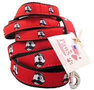 Baltimore's uncrowned king comes to life on these spicy red Natty Boh dog leashes.