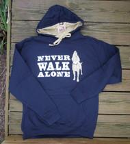 Never Walk Alone Hoodie Sweatshirt Front