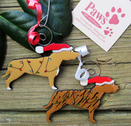 Pit Bull Christmas Ornaments made in USA