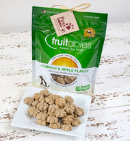Pumpkin Apple Fruitable Dog Treats, Free of Wheat, Corn and Soy