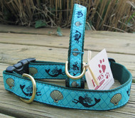 Mermaid Dog Collars Made in USA