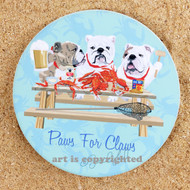 Crabs and Bulldogs Coaster