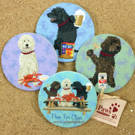 Doodle Dog Coasters with Chesapeake Flavor
