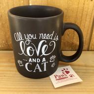Love and a Cat Mug