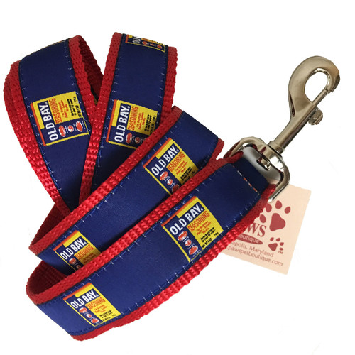 Old Bay Seasoning Dog Leash