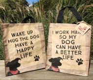 Dog-Lover Totes with Fun Sayings