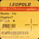 Leupold - VX-3 Handgun - 2.5-8x32mm - Matte - Duplex