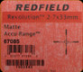 Redfield Revolution 2-7x33mm Matte Accu-Range