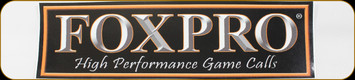 """FOXPRO - 4""""x10"""" Decal - Small side window"""