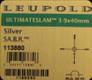 Leupold - Ultimate Slam - 3-9x40mm - Silver - SA.B.R.